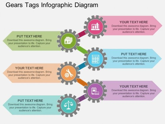 Gears_Tags_Infographic_Diagram_Powerpoint_Template_1