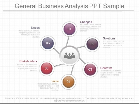 General Business Analysis Ppt Sample