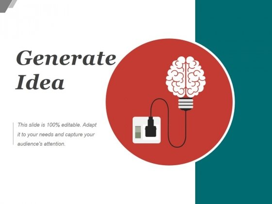 Generate Idea Ppt PowerPoint Presentation Portfolio