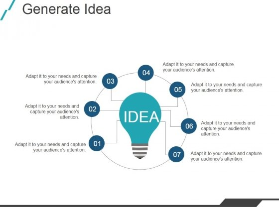 Generate Idea Ppt PowerPoint Presentation Show Visual Aids
