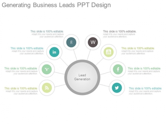 Generating Business Leads Ppt Design