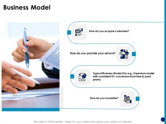 Generating Financial Support Business Model Ppt Infographic Template Inspiration PDF