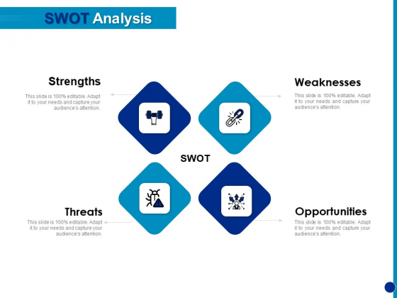 Generating Financial Support SWOT Analysis Ppt Infographic Template Template PDF