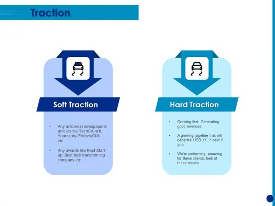 Generating Financial Support Traction Ppt Ideas Slideshow PDF