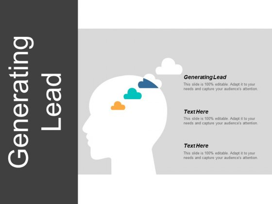 Generating Lead Ppt Powerpoint Presentation Infographic Template Topics Cpb