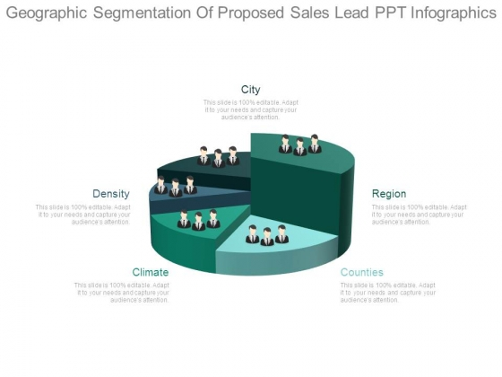 Geographic Segmentation Of Proposed Sales Lead Ppt Infographics