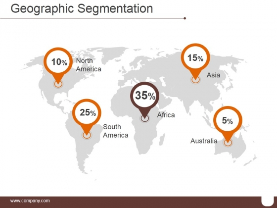 Geographic Segmentation Template 2 Ppt PowerPoint Presentation Layouts