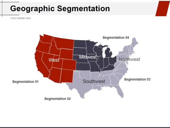 Geographic Segmentation Template 2 Ppt PowerPoint Presentation Outline Guide