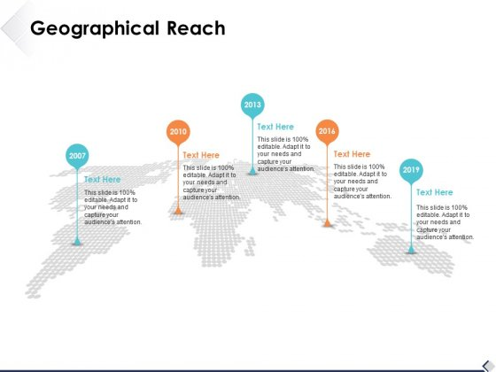Geographical Reach Ppt PowerPoint Presentation Backgrounds