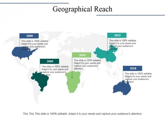 Geographical Reach Ppt PowerPoint Presentation Design Ideas