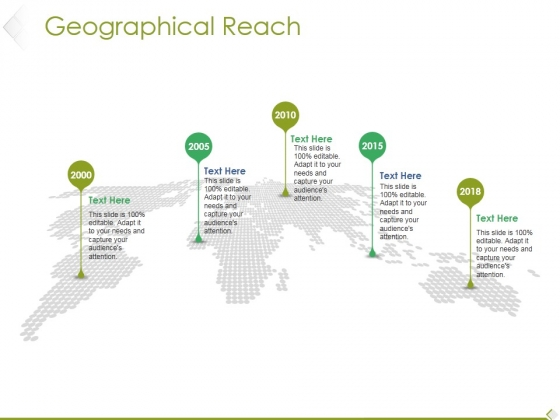 Geographical Reach Ppt PowerPoint Presentation Outline Smartart