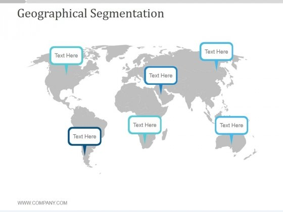 Geographical Segmentation Ppt PowerPoint Presentation Ideas