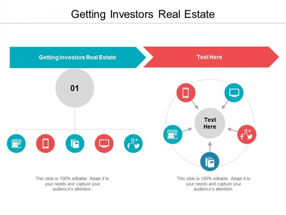 Getting Investors Real Estate Ppt PowerPoint Presentation Slides Graphic Tips Cpb Pdf