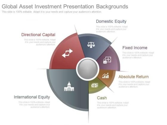 Global Asset Investment Presentation Backgrounds