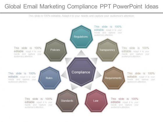 Global Email Marketing Compliance Ppt Powerpoint Ideas