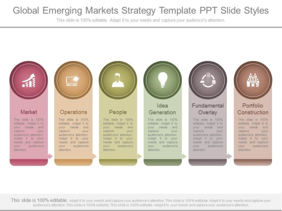 Global Emerging Markets Strategy Template Ppt Slide Styles
