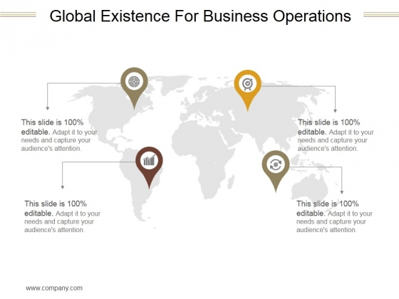 Global Existence For Business Operations Ppt PowerPoint Presentation Files