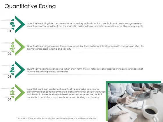 Global Financial Catastrophe 2008 Quantitative Easing Ppt Icon Portrait PDF