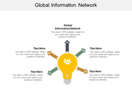 Global Information Network Ppt PowerPoint Presentation Ideas Images Cpb