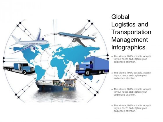 Global Logistics And Transportation Management Infographics Ppt PowerPoint Presentation Icon Outline