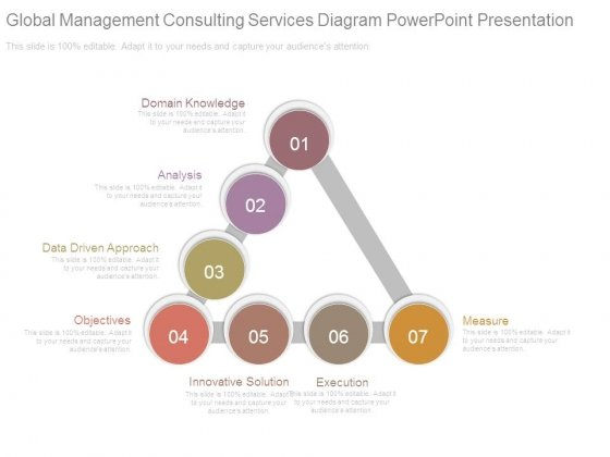 Global Management Consulting Services Diagram Powerpoint