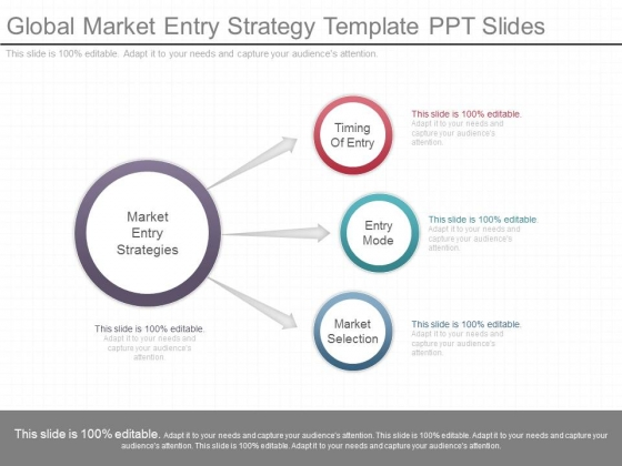 Global Market Entry Strategy Template Ppt Slides PowerPoint Templates - Strategy template