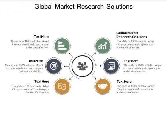 Global Market Research Solutions Ppt PowerPoint Presentation Slides Portfolio Cpb