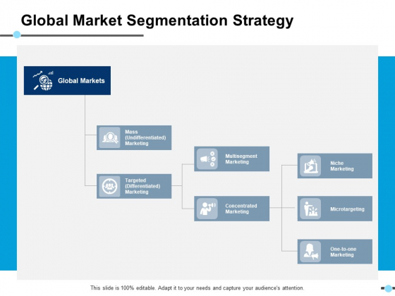 Global Market Segmentation Strategy Concentrated Ppt PowerPoint Presentation Outline Mockup