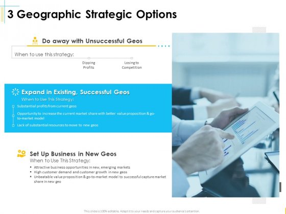 Global Organization Marketing Strategy Development 3 Geographic Strategic Options Demonstration PDF