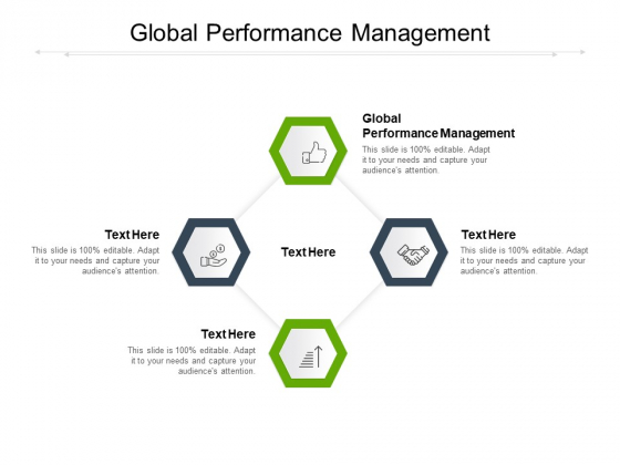 Global Performance Management Ppt PowerPoint Presentation Infographic Template Templates Cpb