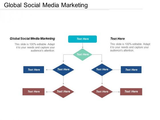 Global Social Media Marketing Ppt PowerPoint Presentation Infographics Professional Cpb