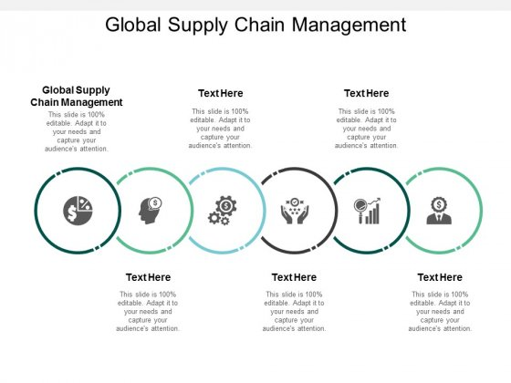 global supply chain management ppt powerpoint presentation show background designs cpb