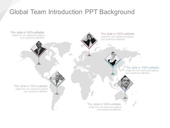 Global Team Introduction Ppt Background
