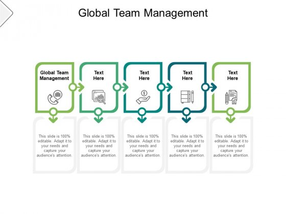 Global Team Management Ppt PowerPoint Presentation Summary Maker Cpb