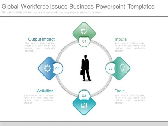 Global Workforce Issues Business Powerpoint Templates