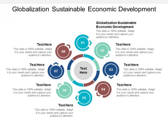 Globalization Sustainable Economic Development Ppt PowerPoint Presentation Infographic Template Layouts Cpb