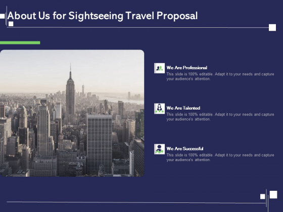 Globetrotting Tour About Us For Sightseeing Travel Proposal Ppt PowerPoint Presentation Ideas Display PDF