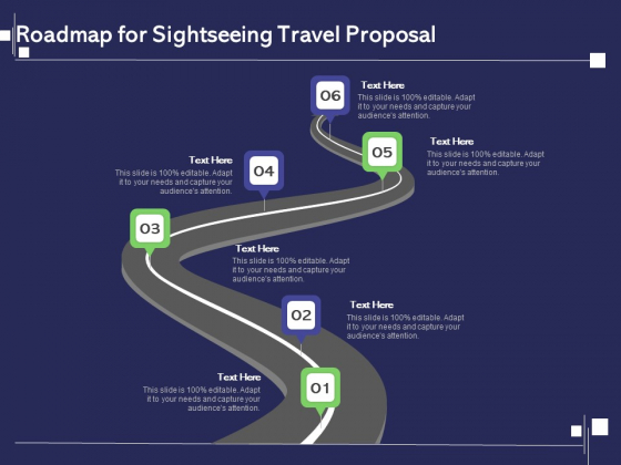 Globetrotting Tour Roadmap For Sightseeing Travel Proposal Ppt PowerPoint Presentation File Themes PDF