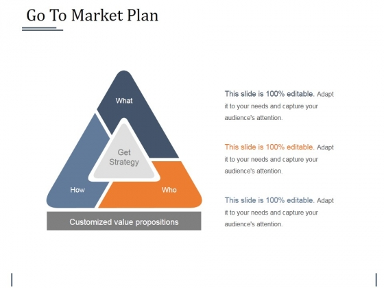Go To Market Plan Ppt PowerPoint Presentation Infographic Template Rules