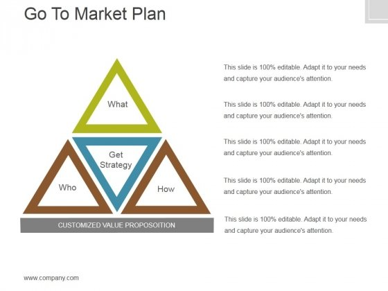 Go To Market Plan Ppt PowerPoint Presentation Layouts