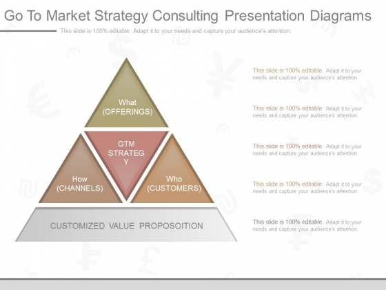 Go To Market Strategy Consulting Presentation Diagrams