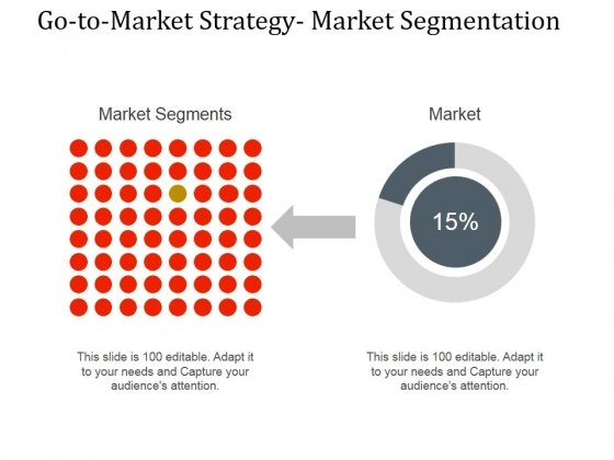 Go To Market Strategy Market Segmentation Ppt PowerPoint Presentation Themes
