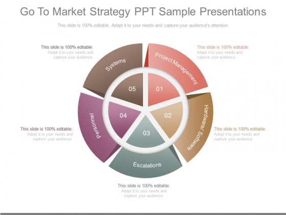 Go To Market Strategy Diagram Powerpoint Presentation Examples - Go to market strategy template