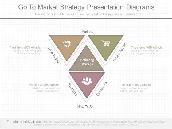 Go To Market Strategy Presentation Diagrams
