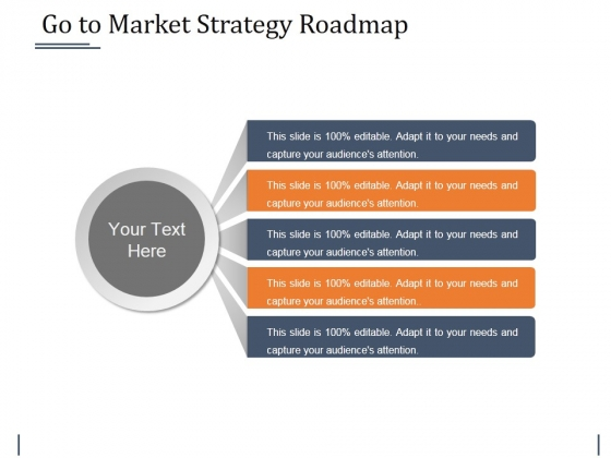 Go To Market Strategy Roadmap Template 2 Ppt PowerPoint Presentation Layouts Professional