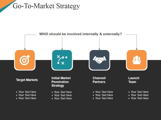 go to market strategy template 1 ppt powerpoint presentation