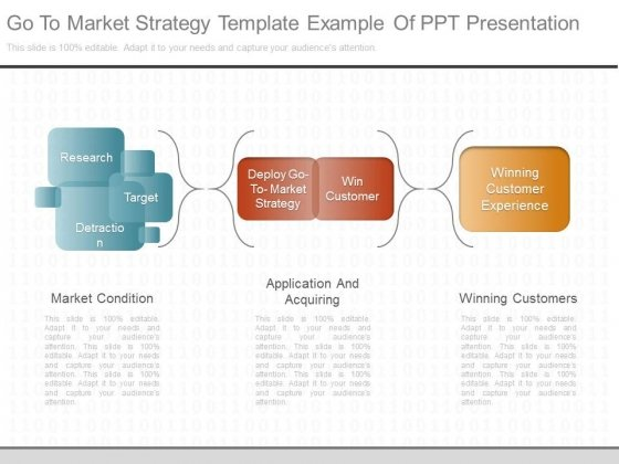 Go To Market Strategy Template Example Of Ppt Presentation - Go to market strategy template