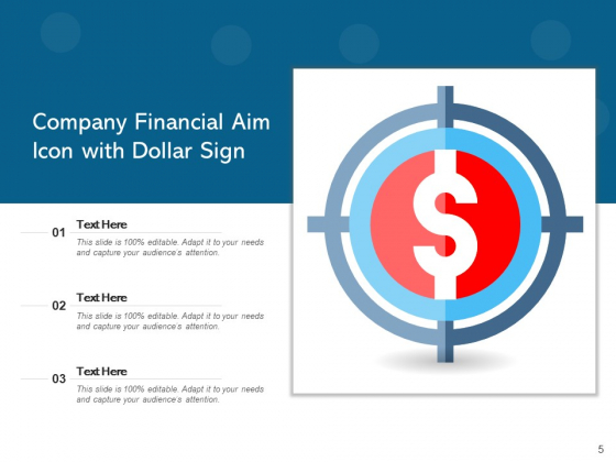 Goal_Icon_Target_Icon_Dollar_Sign_Ppt_PowerPoint_Presentation_Complete_Deck_Slide_5