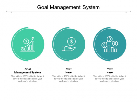 Goal Management System Ppt PowerPoint Presentation Model Infographic Template Cpb Pdf