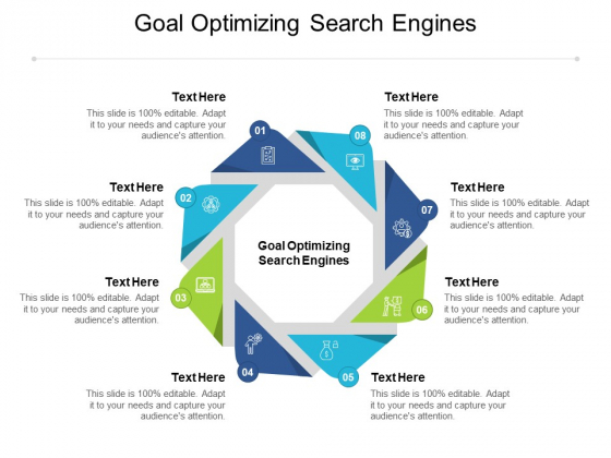 Goal Optimizing Search Engines Ppt PowerPoint Presentation Icon Visuals Cpb Pdf